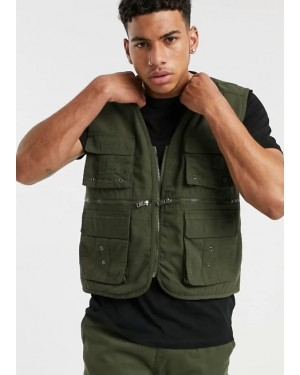 -Customization-High-Quality-Utility-Gilet-Jacket-in-Green-TS-1261-21-(1)