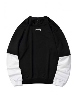 Casual-Men-Letter-Graphic-Contrast-Sleeve-Sweatshirt-Supppliers-TS-1206-20-(1)