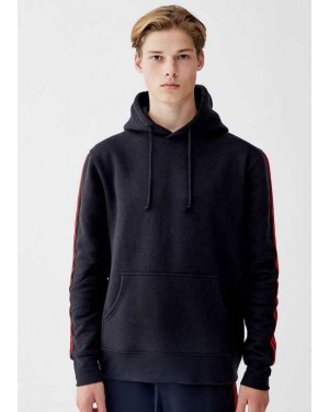 Hoodie with Side Taping TS-2030