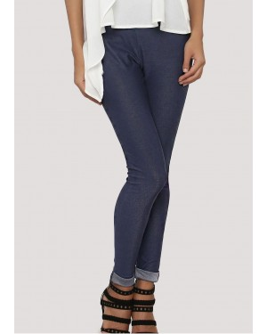 New Stylish Turn Up Hem Basic Leggings TS-3089-20