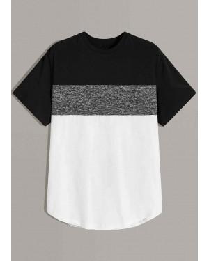 Wholesale-Men-Marled-Panel-Color-Block-Curve-Hem-T-Shirt-Manufactures-TS-1197-20-(1)