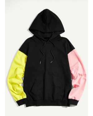Winter-Wholesale-Fashionable-Brand-your-Own-Men-Color-Block-Sleeve-Pocket-Hoodie-Sweatshirt-TS-1210--(2)