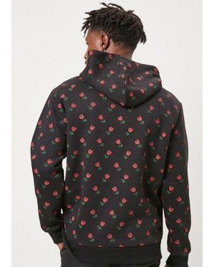 Allover-High-Quality-Customizable-Custom-Flower-Printed-Dark-Grey-Hoodie-TS-1331-21-(1)