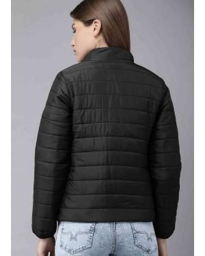 Black-Solid-Customizable-Zipper-Women-Padded-Jacket-TS-1596-21-(1)