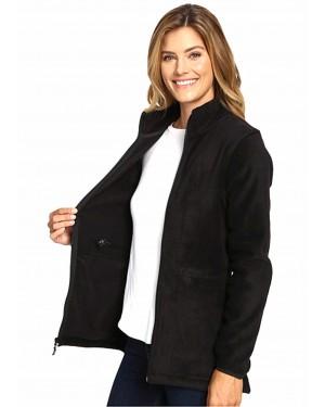Black-Women-Customizable-High-Quality-Fleece-Long-Jacket-TS-1556-21-(1)