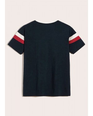 Color Block Tee TS 109 19