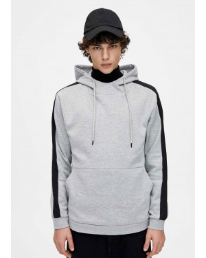 Hoodie with side Stripes TS-2029