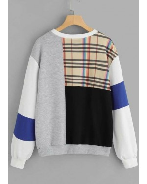 New-Custom-Checked-Panel-and-Contrast-Sleeve-Sweatshirt-TS-1130-20-(1)
