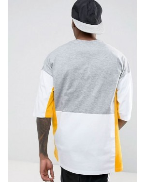 Oversized-High-Quality--T-Shirt-With-Text-Embroidery-And-Colour-Block-Panels-TS-1182-20-(1)