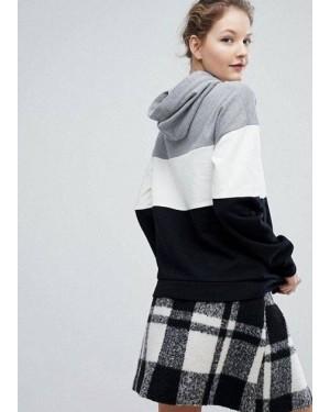 Paneled Pullover Custom Branded Hoodie TS-2915-20