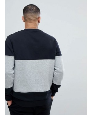 Patch-Crew-Neck-Wholesale-Sweatshirt-In-Black-and-Grey-Best-Manufacturers-TS-1181-20-(1)