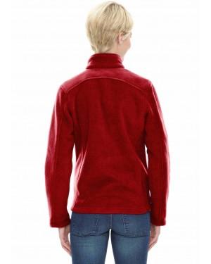 Red-Wholesale-Women-Fleece-Jacket-TS-1542-21-(1)